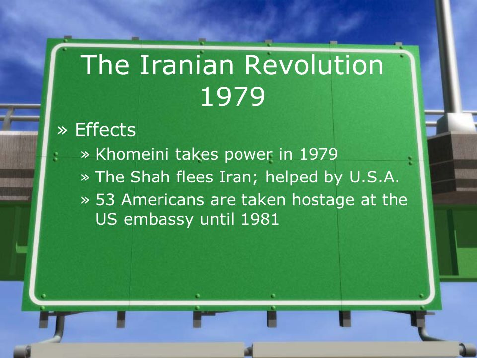 the causes and effects of the iranian revolution Islamic revolution of 1979: the downfall of american-iranian relations that do not have great effects on global or domestic relations.