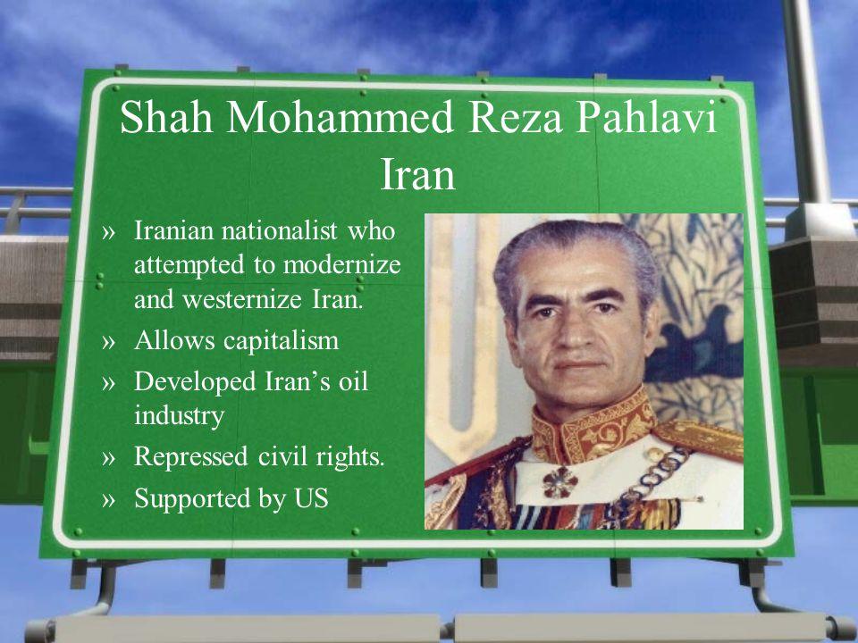 Shah Mohammed Reza Pahlavi Iran