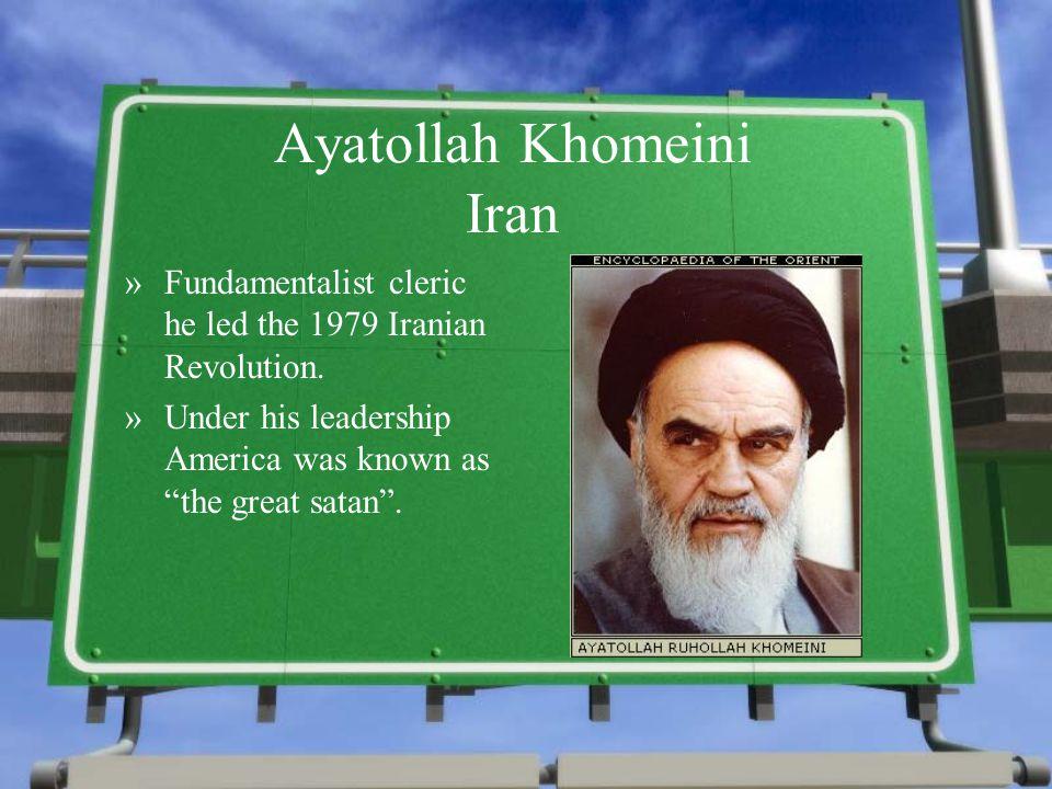 Ayatollah Khomeini Iran