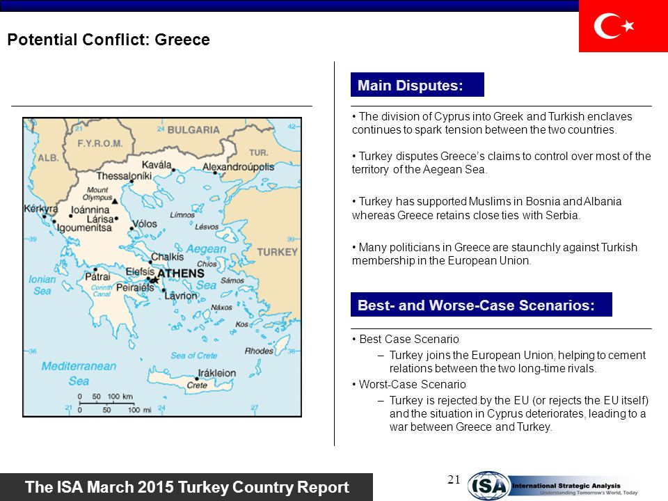 Potential Conflict: Greece