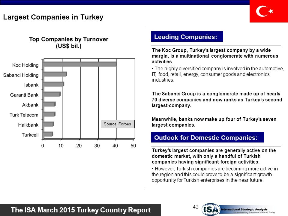 Largest Companies in Turkey