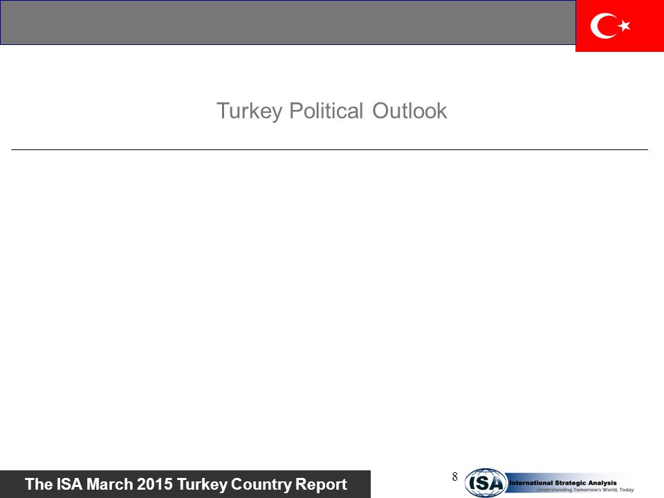 Turkey Political Outlook