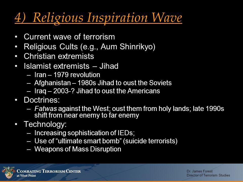 4) Religious Inspiration Wave