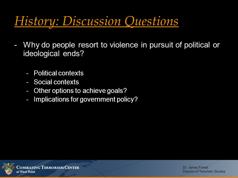 Historical cultural context discussion questionsl