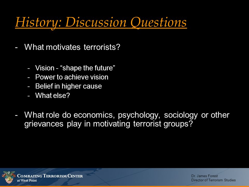 what motivates terrorists how do Defining and distinguishing secular and religious terrorism  aims to do four things:  defining and distinguishing secular and religious terrorism.