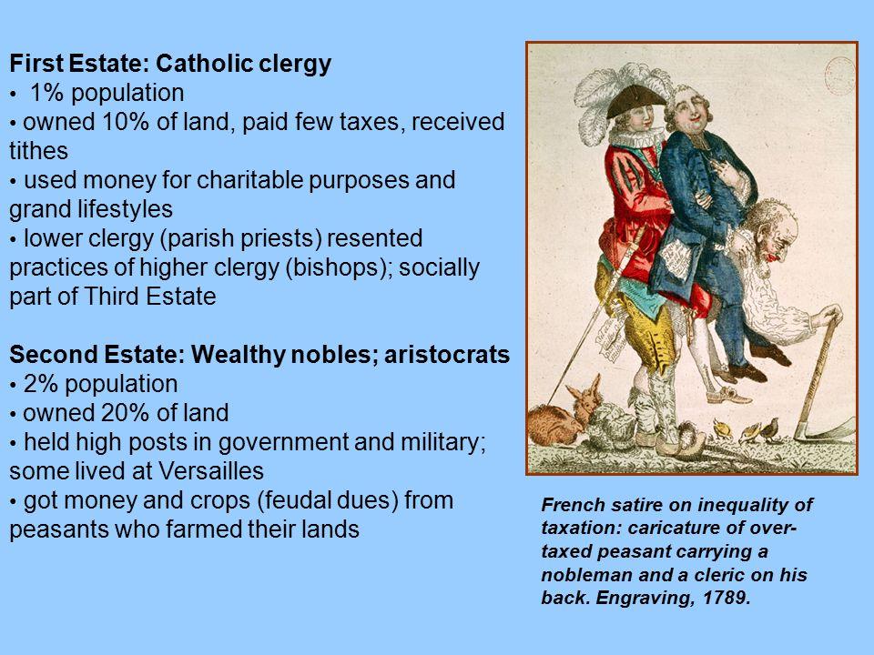 First Estate: Catholic clergy