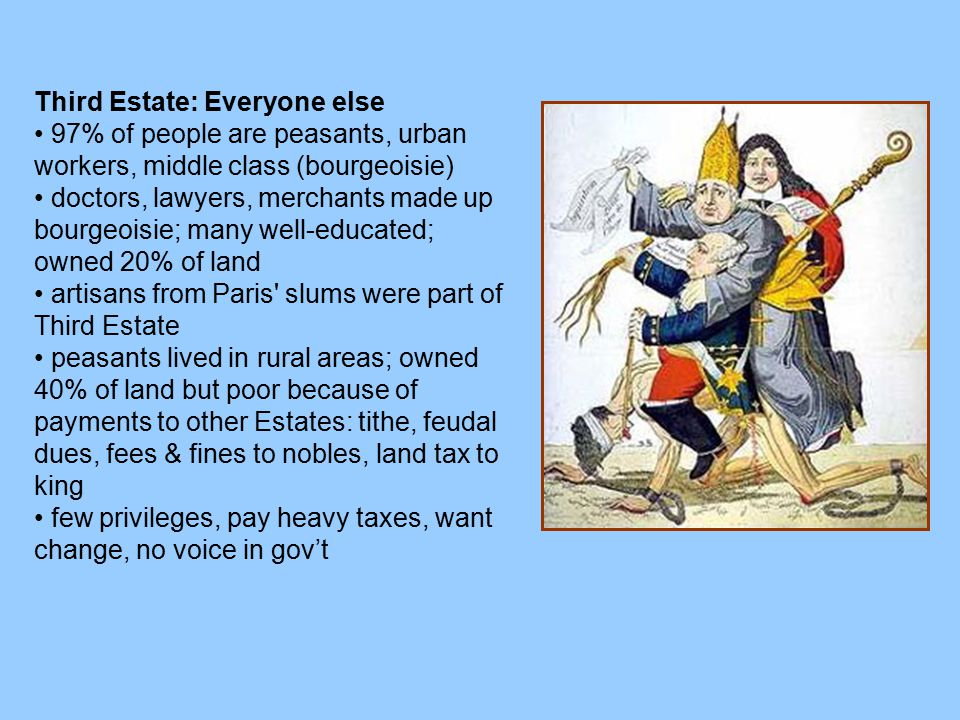 Third Estate: Everyone else