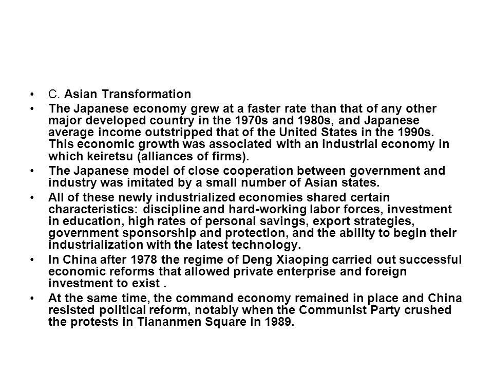 C. Asian Transformation