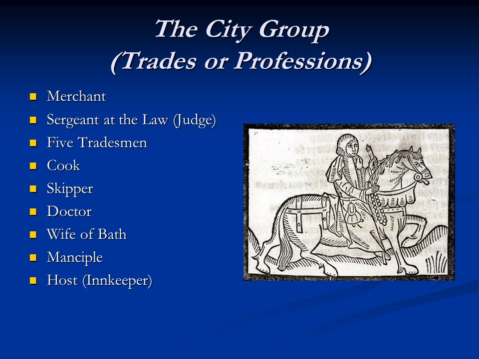 The City Group (Trades or Professions)