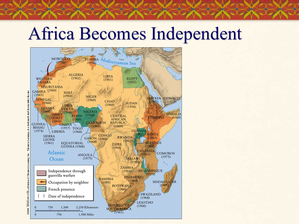 Africa Becomes Independent
