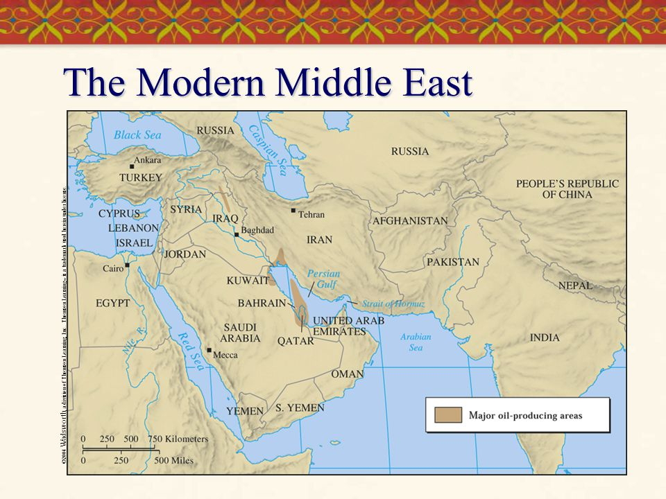 The Modern Middle East ©2004 Wadsworth, a division of Thomson Learning, Inc.