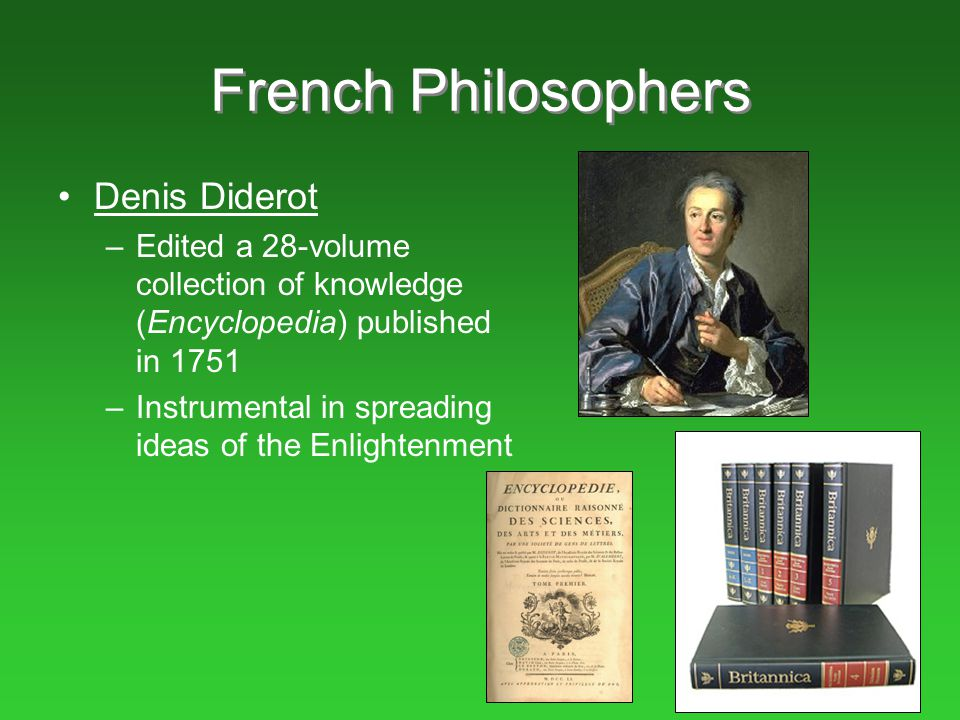 French Philosophers Denis Diderot