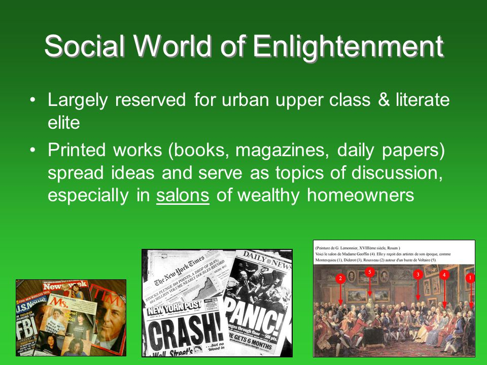 Social World of Enlightenment