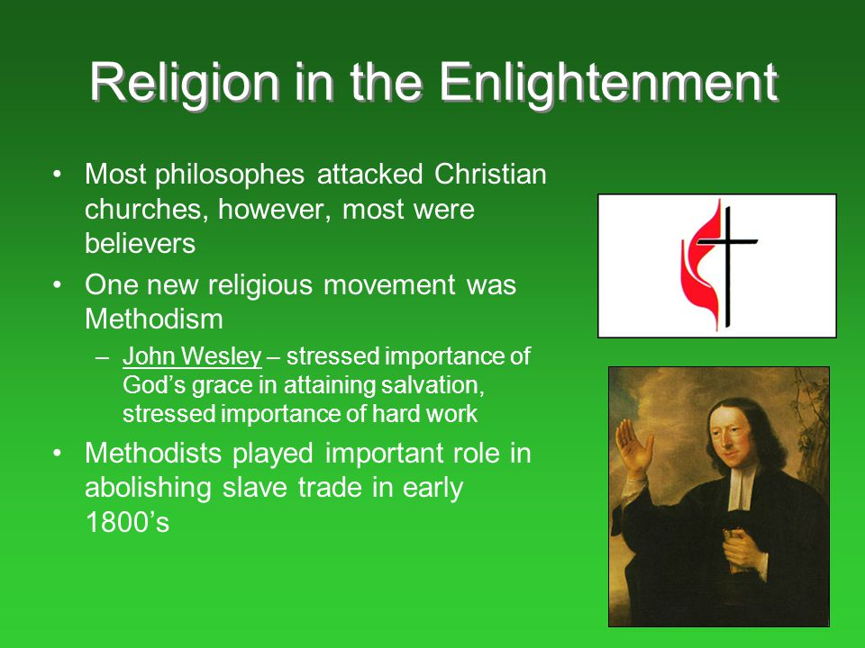 Religion in the Enlightenment