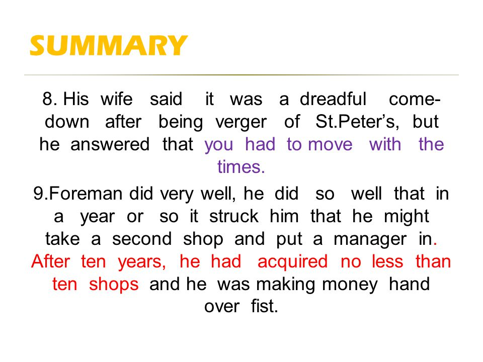 summary of the verger by maugham