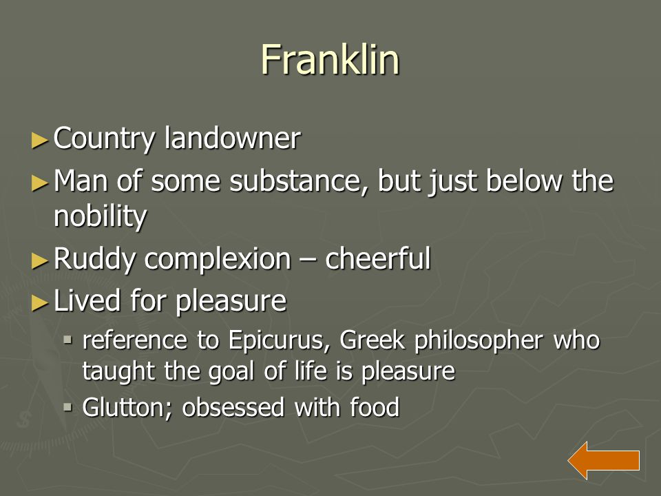Franklin Country landowner