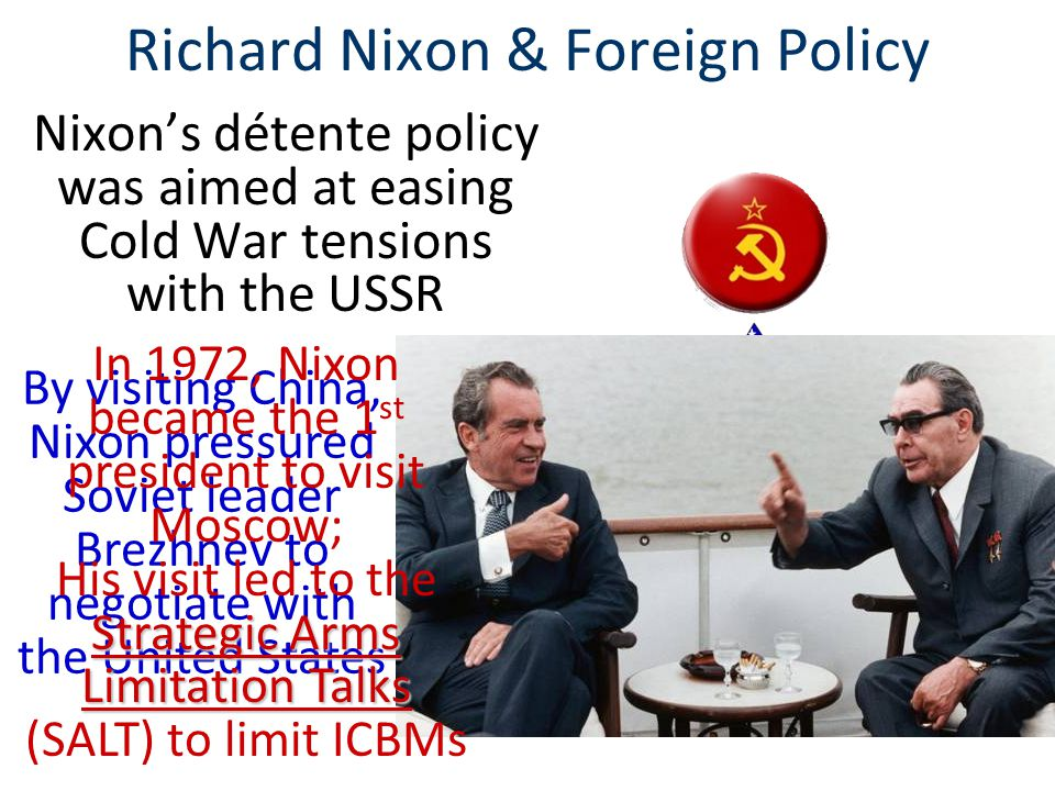 Richard Nixon & Foreign Policy