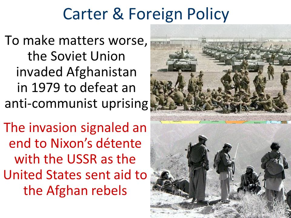 Carter & Foreign Policy