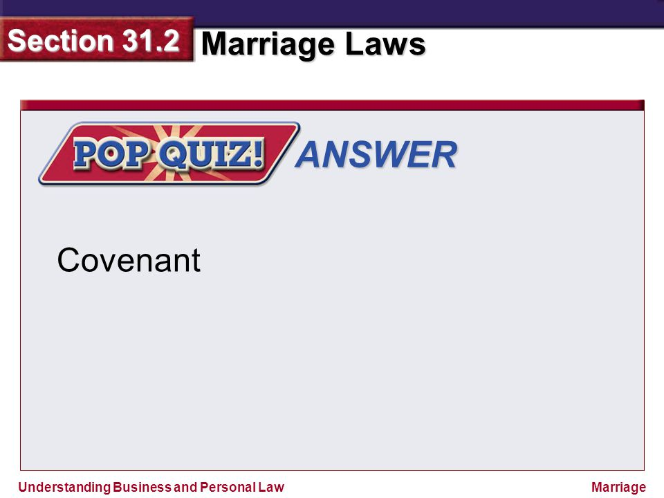 ANSWER Covenant