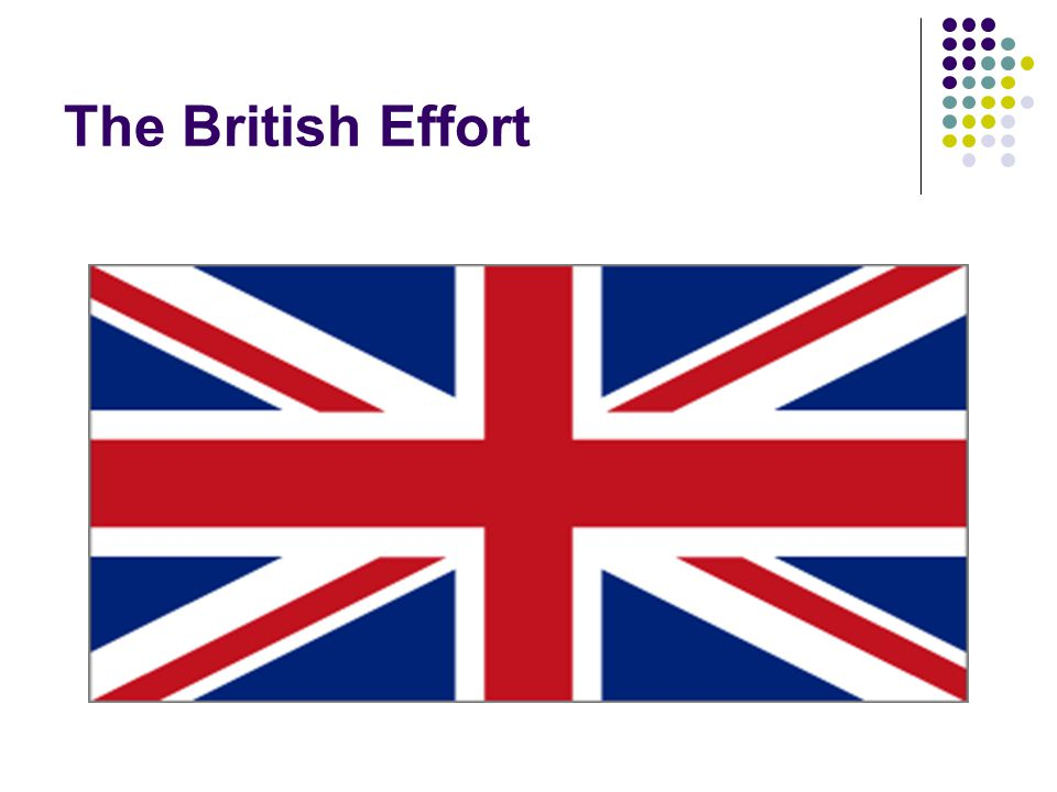 The British Effort