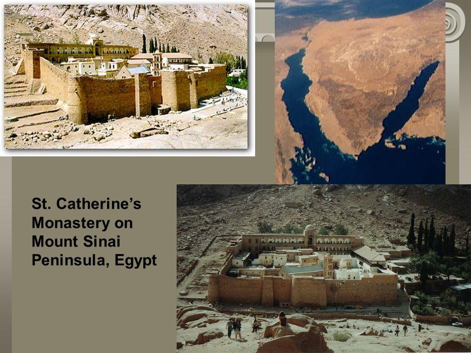 St. Catherine's Monastery on Mount Sinai Peninsula, Egypt