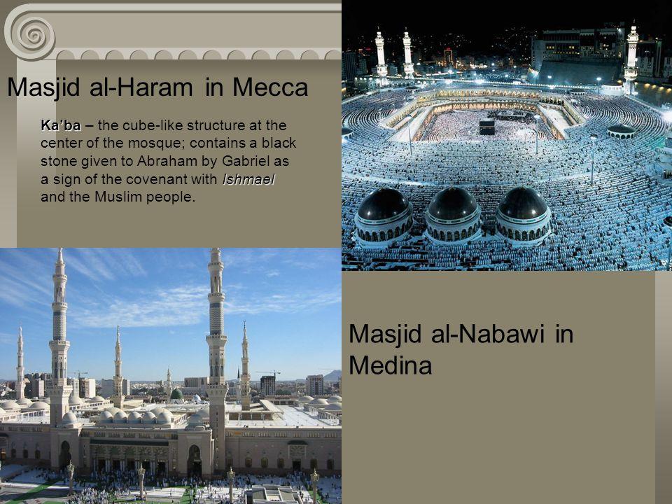 Masjid al-Haram in Mecca