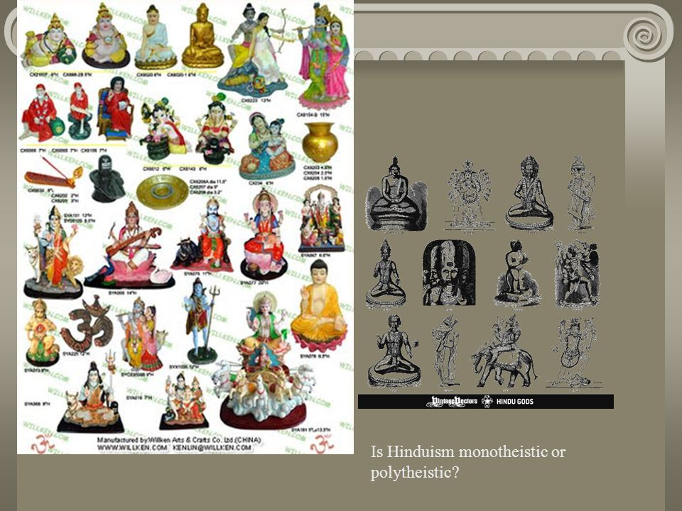 Is Hinduism monotheistic or polytheistic