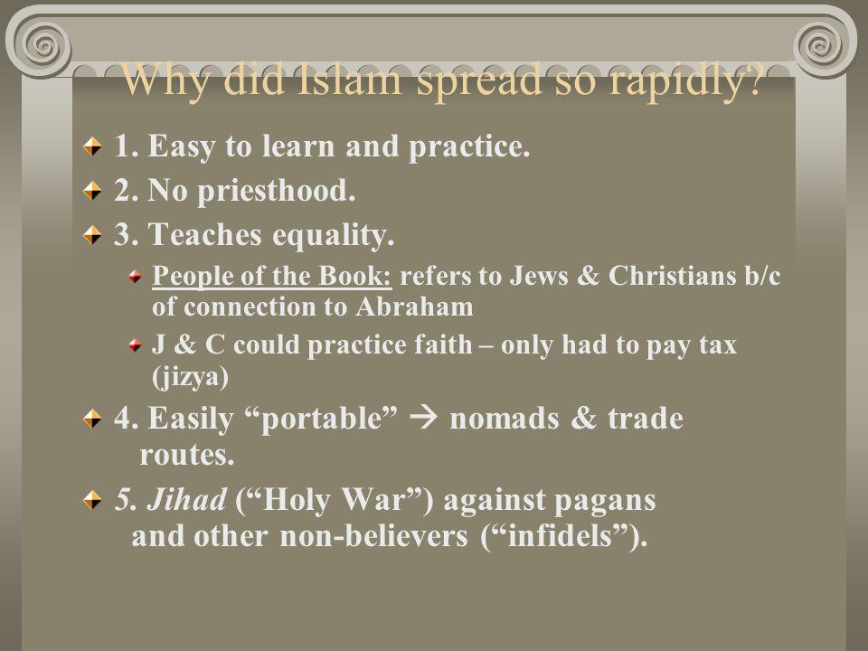 Why did Islam spread so rapidly
