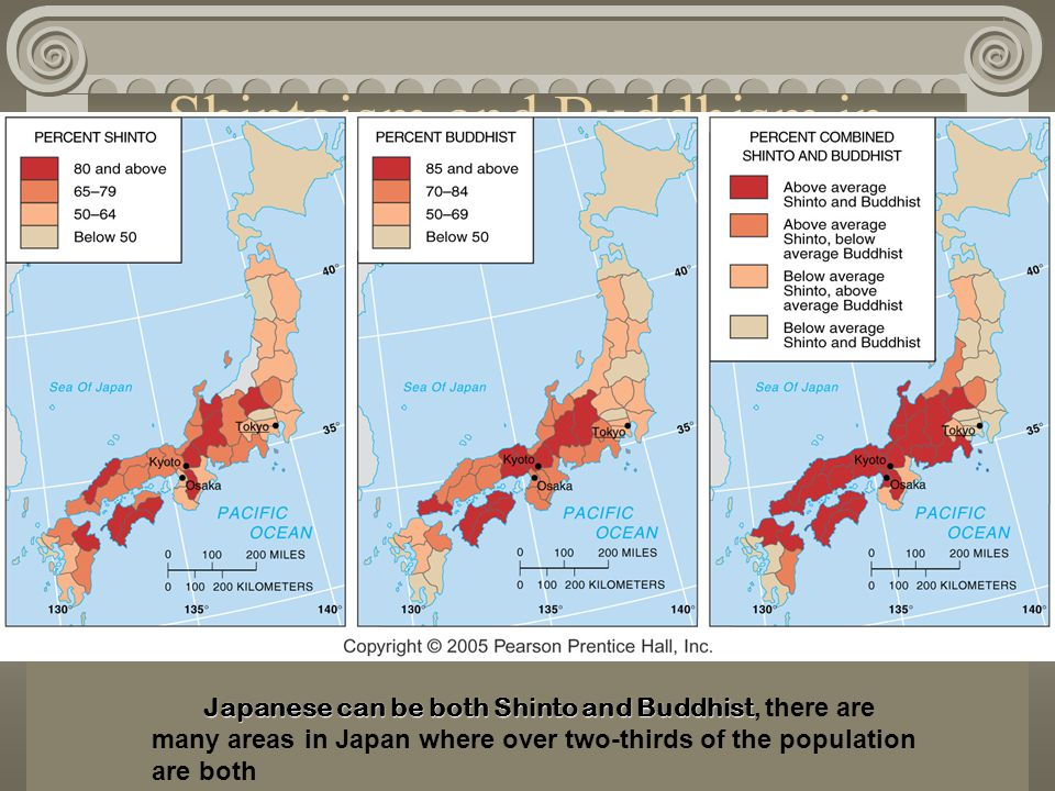 Shintoism and Buddhism in Japan