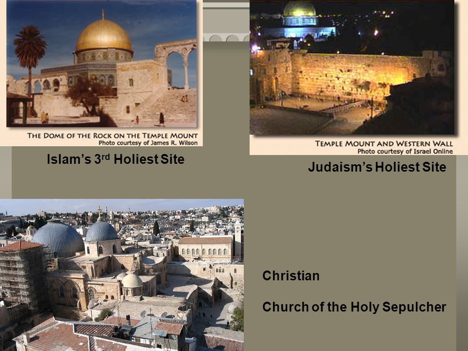 Islam's 3rd Holiest Site
