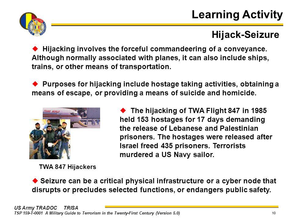 Learning Activity Hijack-Seizure