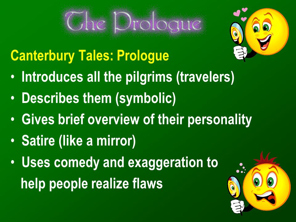 Canterbury Tales: Prologue
