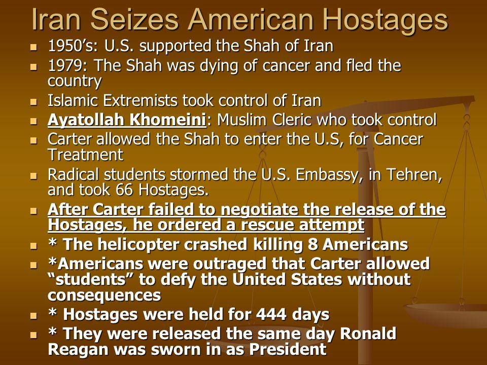 Iran Seizes American Hostages