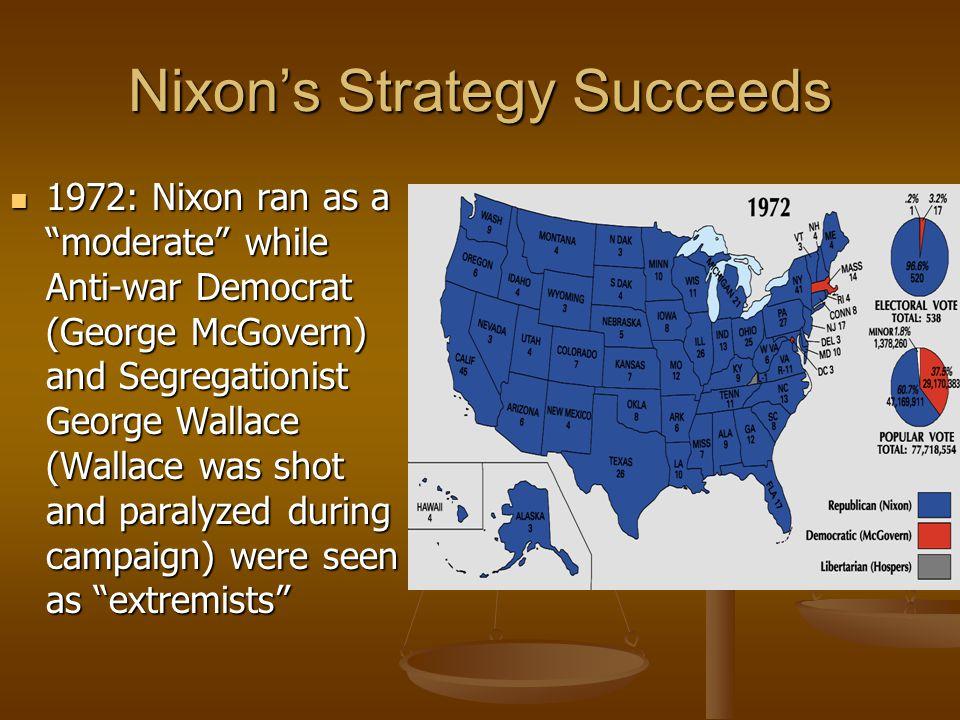 Nixon's Strategy Succeeds