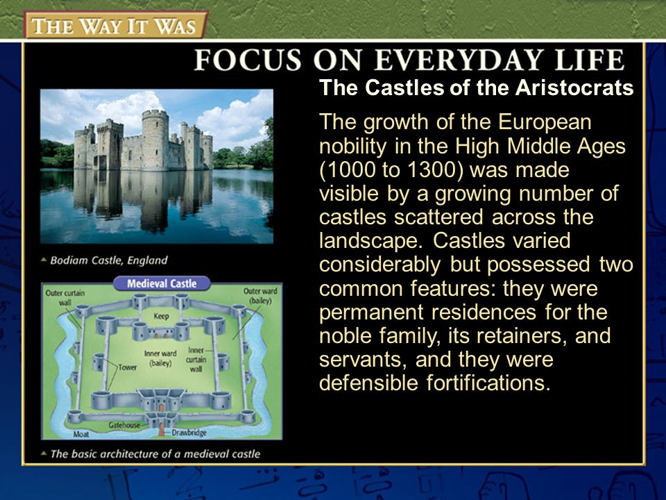The Castles of the Aristocrats