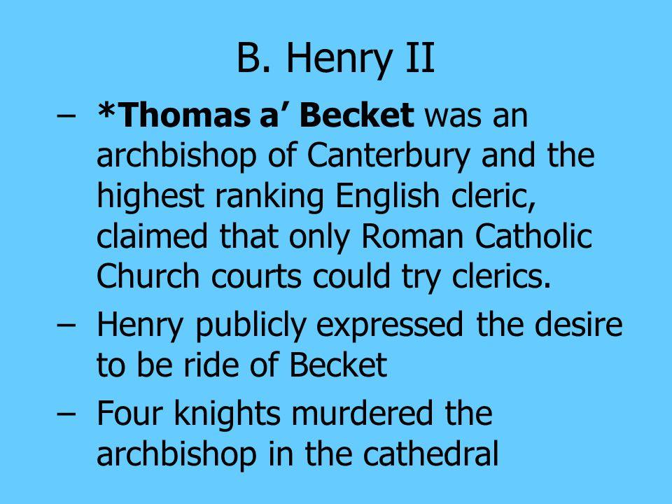 B. Henry II