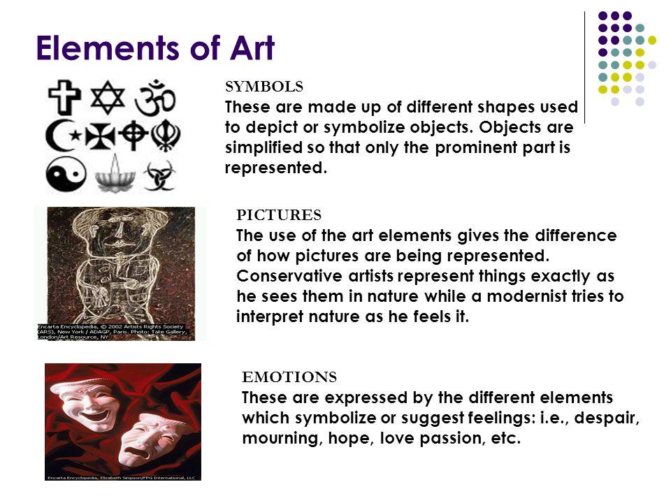 Elements of Art SYMBOLS