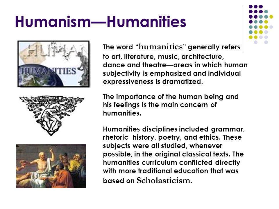 Humanism—Humanities
