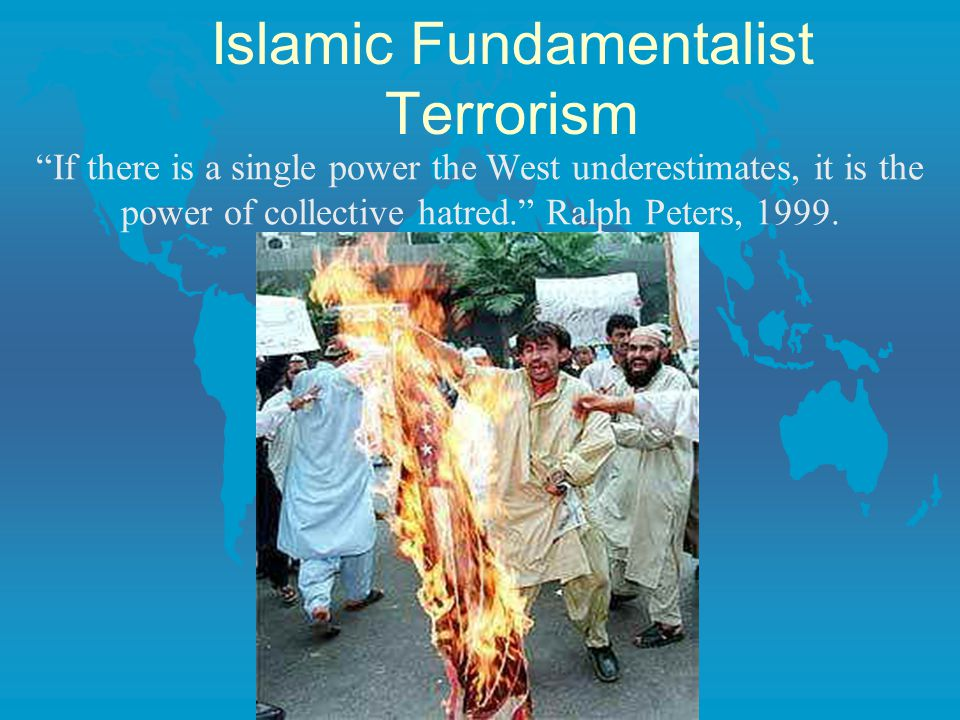 Islamic Fundamentalist Terrorism