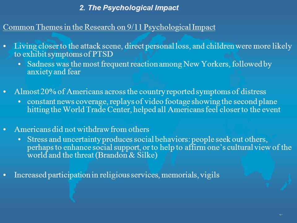 2. The Psychological Impact