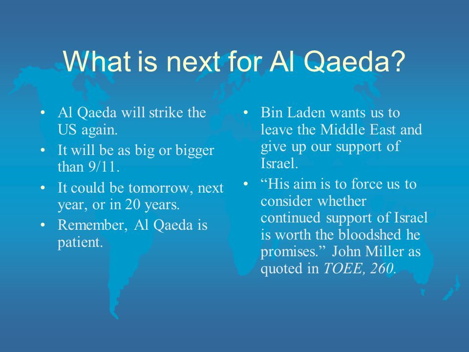What is next for Al Qaeda