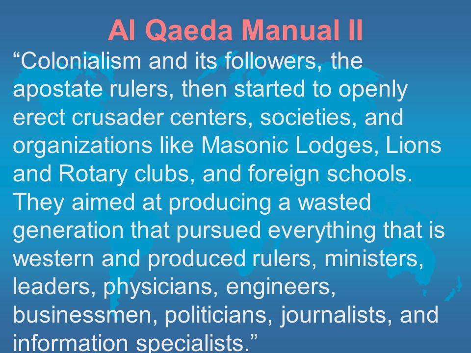 Al Qaeda Manual II