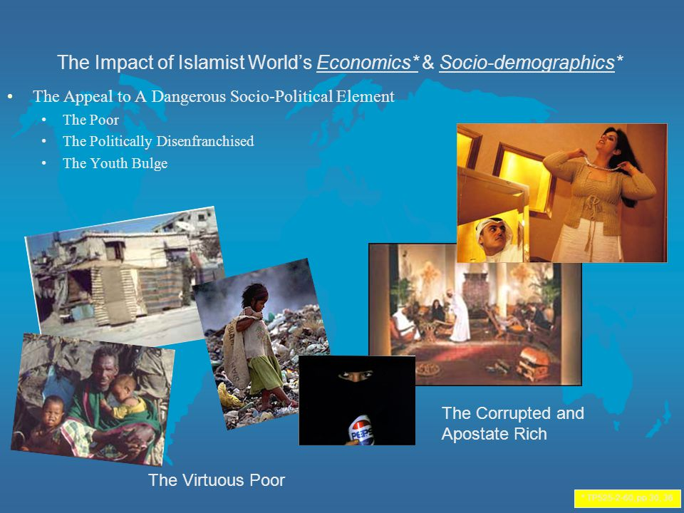 The Impact of Islamist World's Economics* & Socio-demographics*