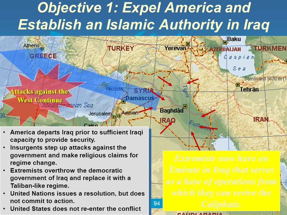 Objective 1: Expel America and Establish an Islamic Authority in Iraq