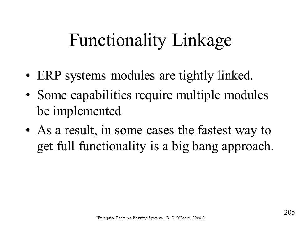 Functionality Linkage