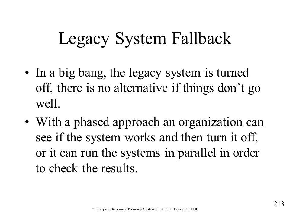 Legacy System Fallback