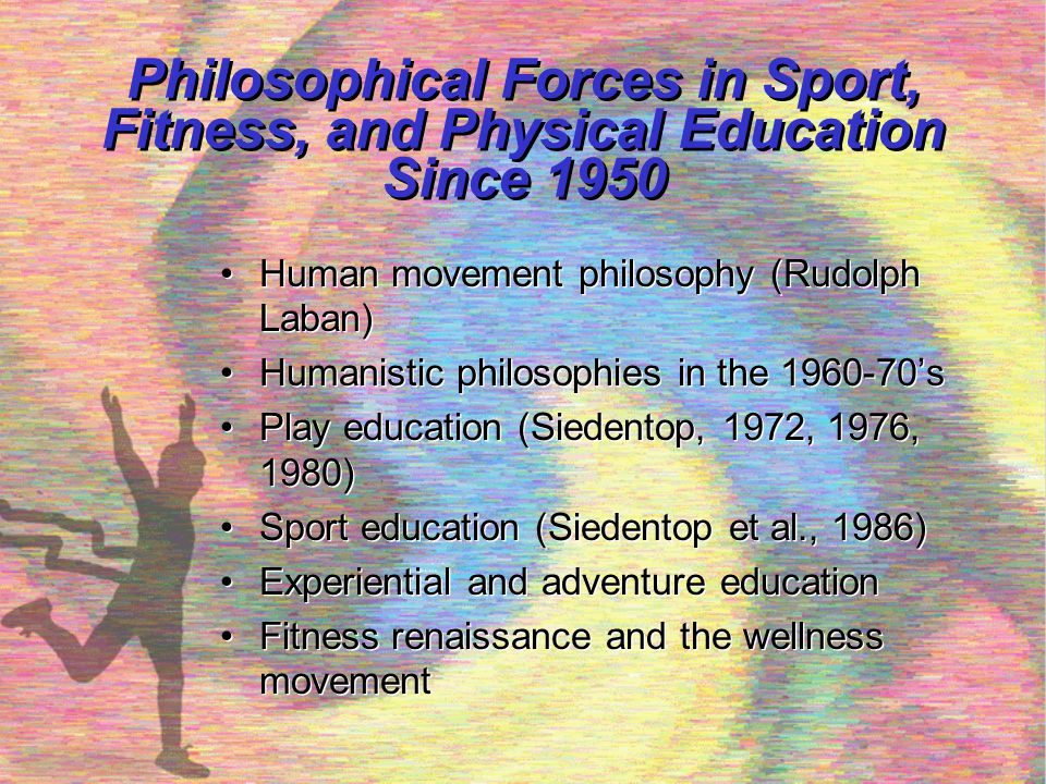 Philosophical Forces in Sport, Fitness, and Physical Education Since 1950
