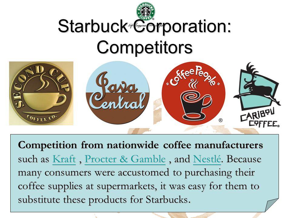 Starbuck Corporation: Competitors