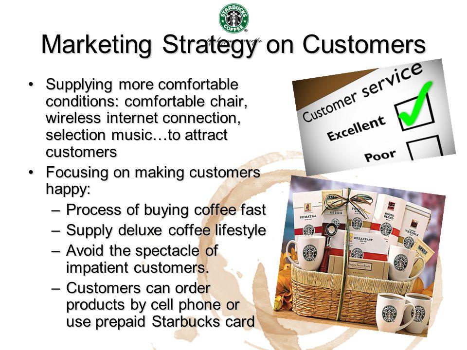 Marketing Strategy on Customers