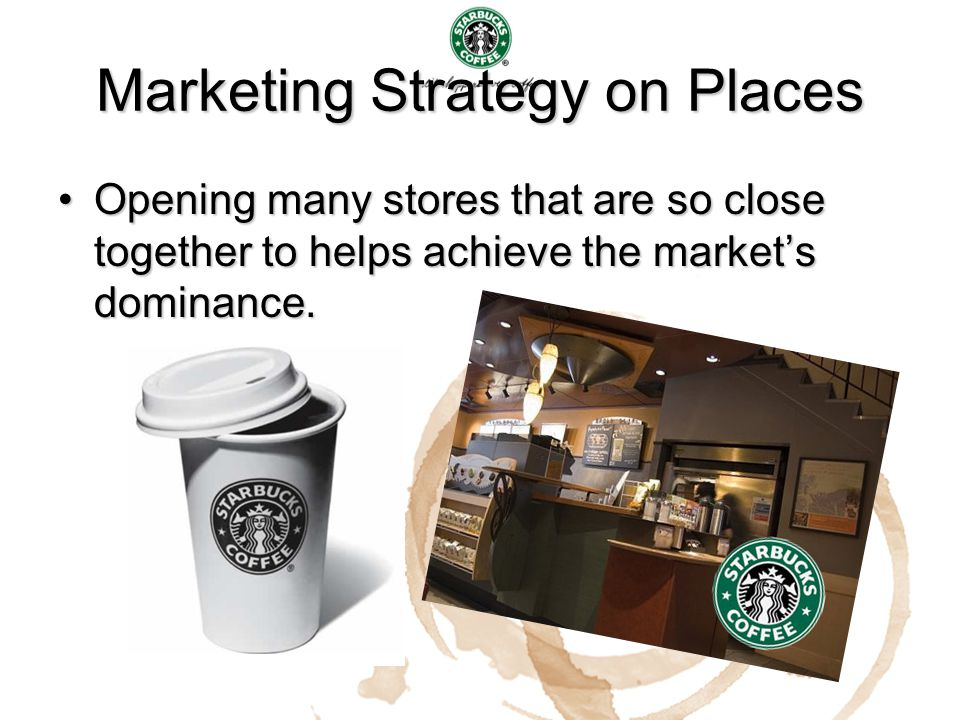 Marketing Strategy on Places